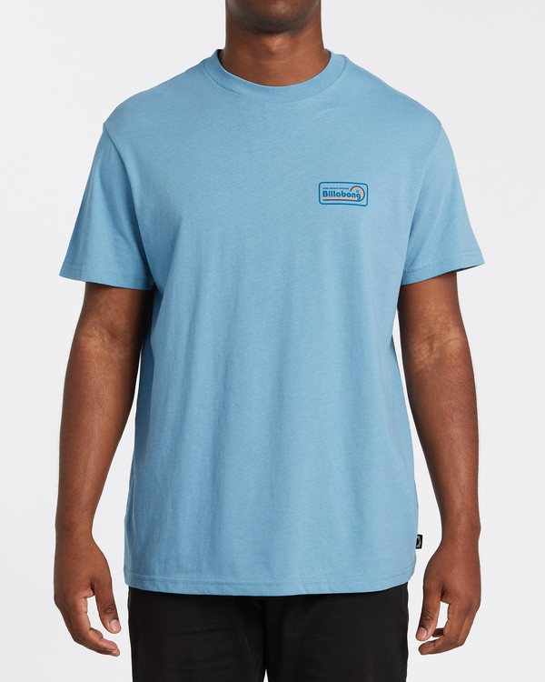 0 Ding Repair Short Sleeve T-Shirt Grey M4042BDI Billabong