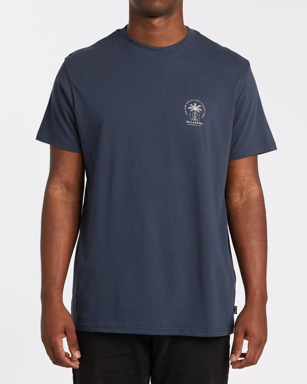 0 Double Tiger Short Sleeve T-Shirt Blue M4042BDO Billabong