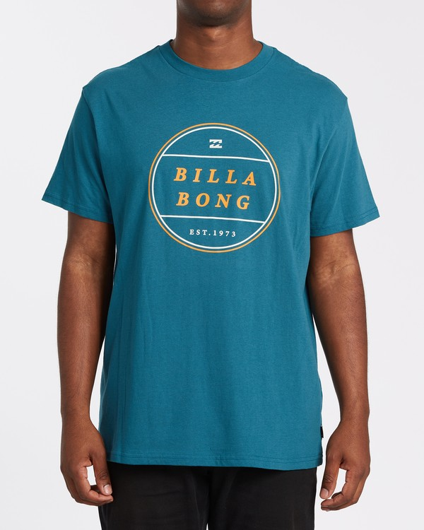 0 Frotor Short Sleeve T-Shirt Blue M4042BFR Billabong