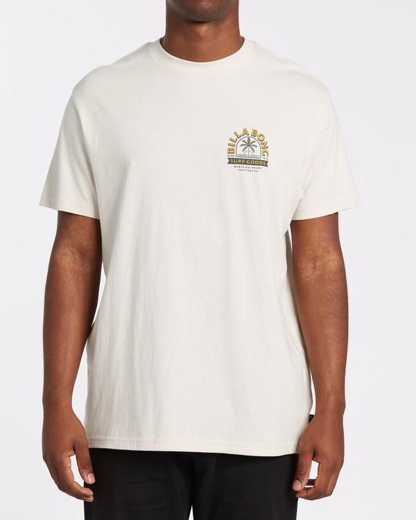 0 Goods Short Sleeve T-Shirt Brown M4042BGD Billabong