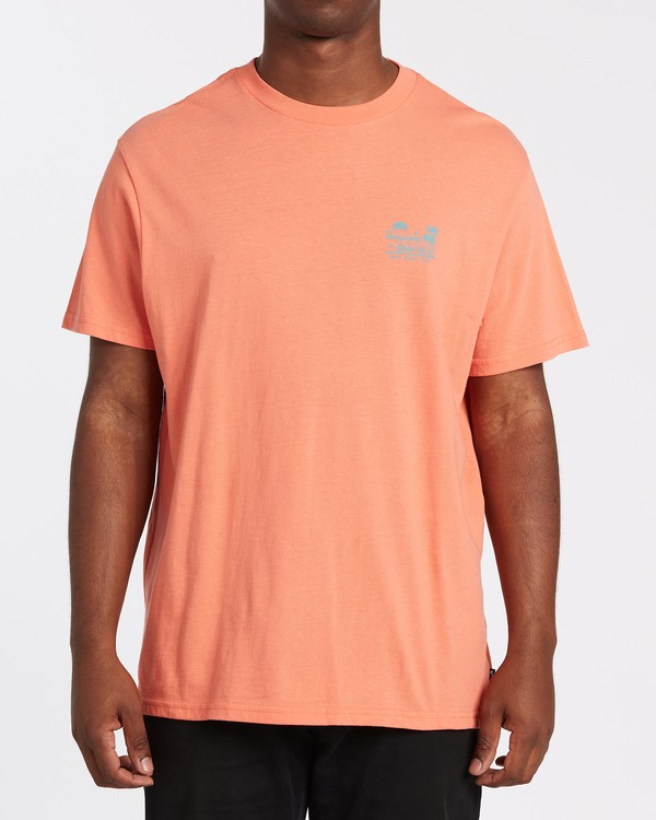 0 Lounge Short Sleeve T-Shirt Orange M4042BLO Billabong