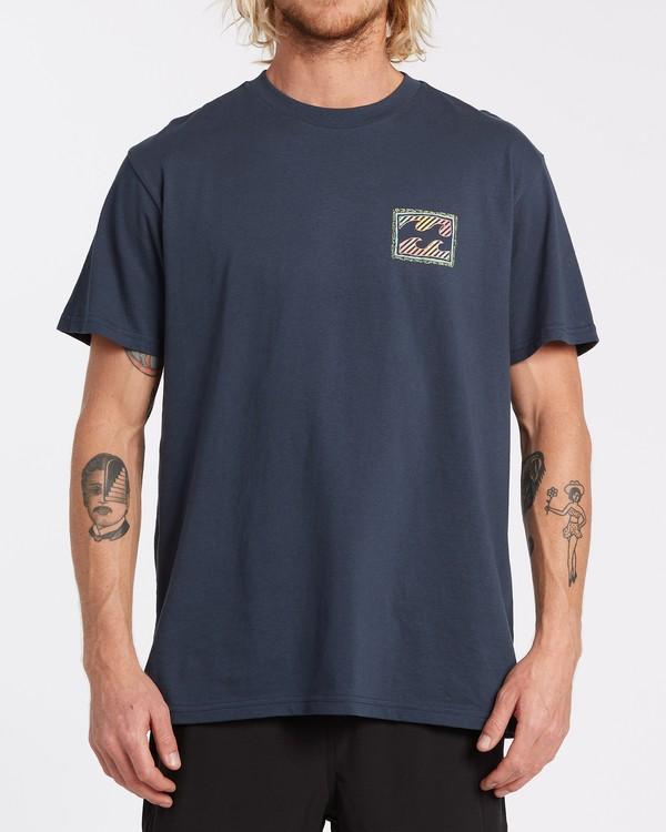 0 Nosara Short Sleeve T-Shirt Blue M4042BNO Billabong