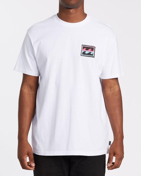 0 Nosara Short Sleeve T-Shirt White M4042BNO Billabong