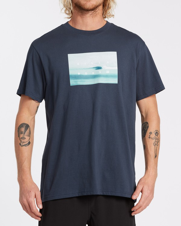 0 Scenic Short Sleeve T-Shirt Blue M4042BSC Billabong