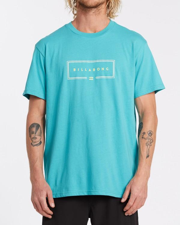 0 Union Short Sleeve T-Shirt Green M4042BUN Billabong
