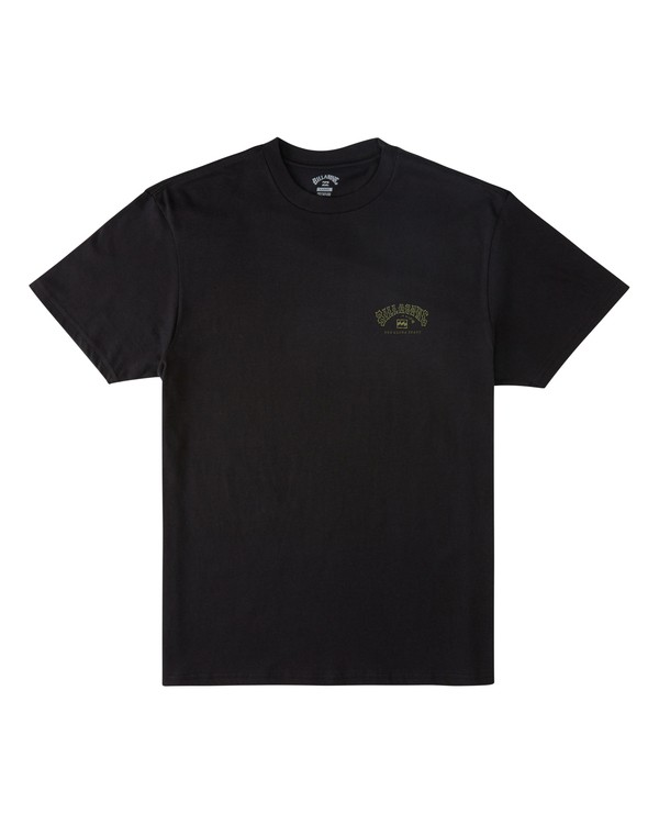 0 Arch Hawaii Short Sleeve T-Shirt Black M4043BAR Billabong