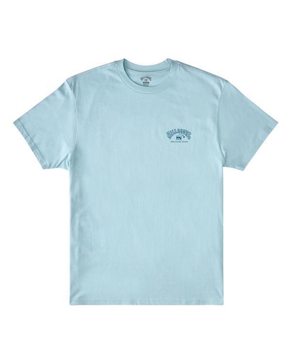 0 Arch Hawaii Short Sleeve T-Shirt Blue M4043BAR Billabong