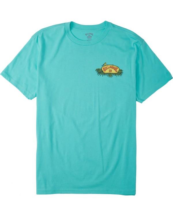 0 Billys Point T-Shirt Black M4043BBP Billabong