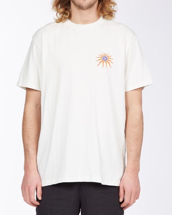 0 Cactus Snake T-Shirt White M4043BCS Billabong