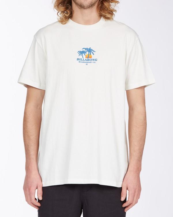 0 Current T-Shirt White M4043BCU Billabong