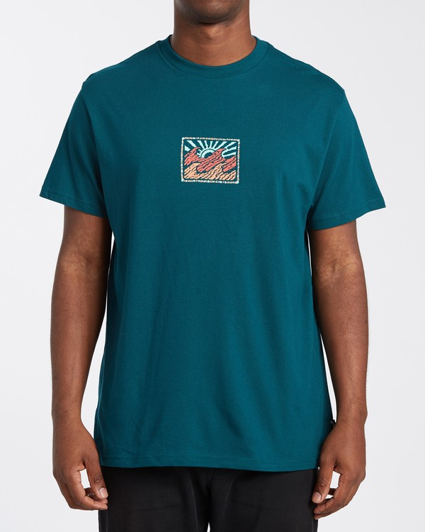 0 Crayon Wave T-Shirt Multicolor M4043BCW Billabong