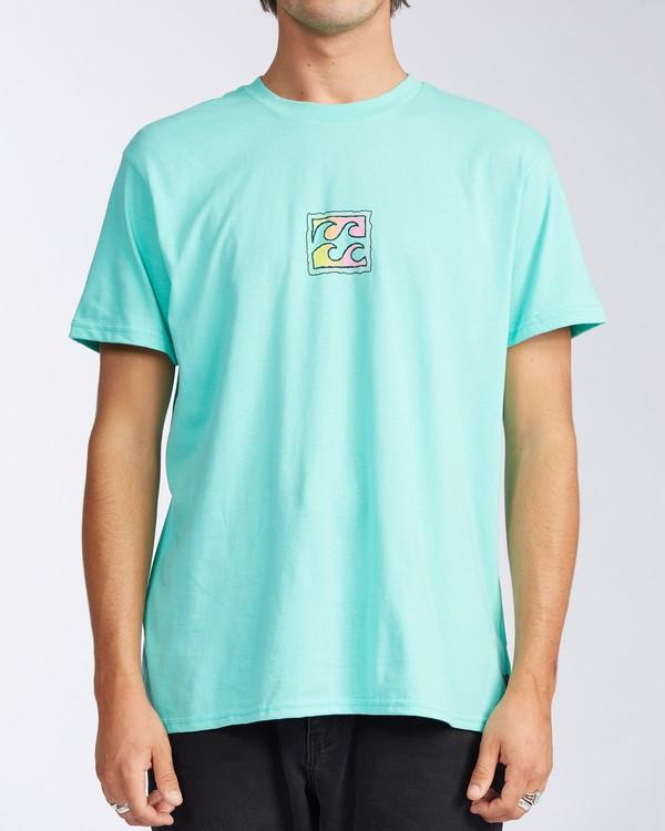 0 Crayon Wave T-Shirt Black M4043BCW Billabong