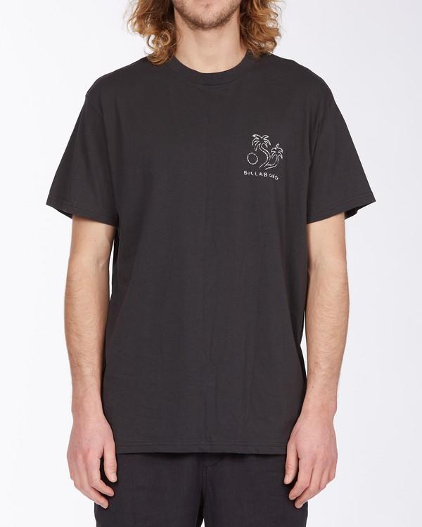 0 Folklore T-Shirt Black M4043BFO Billabong