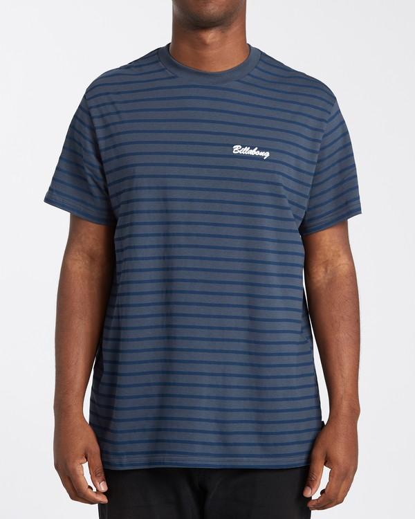 0 Line Up T-Shirt Blue M4043BLU Billabong
