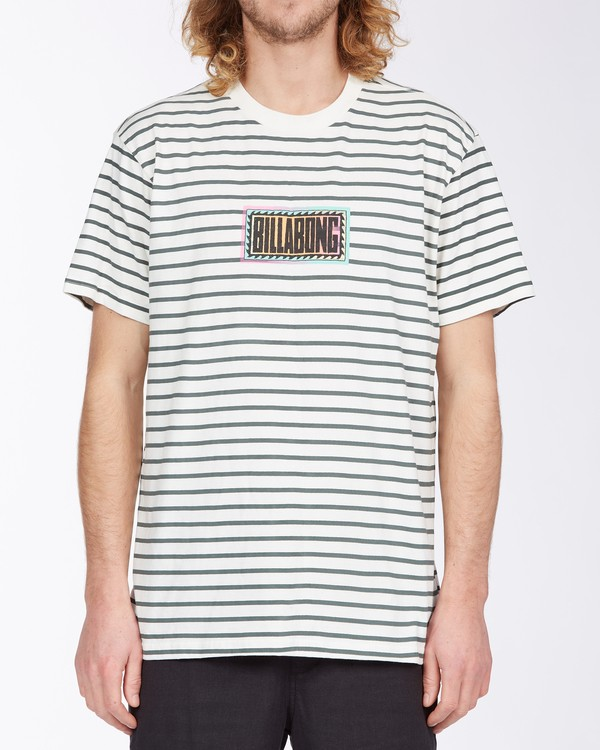 0 Line Up T-Shirt White M4043BLU Billabong