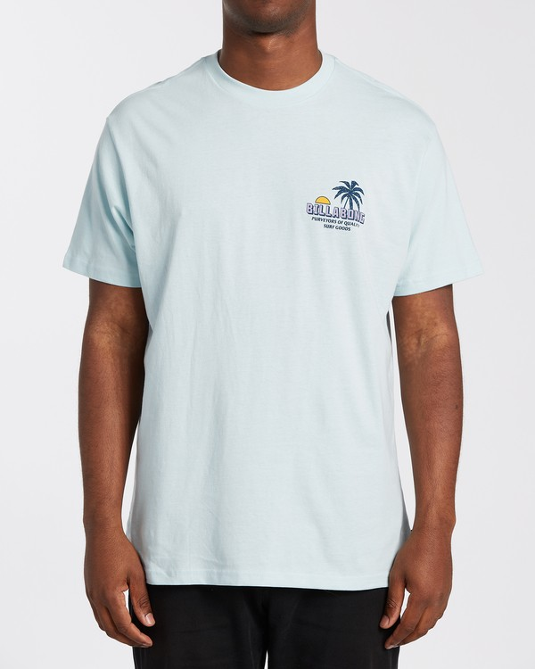 0 Palmas T-Shirt Blue M4043BPA Billabong