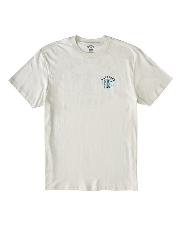 0 Pineapple Short Sleeve T-Shirt White M4043BPI Billabong