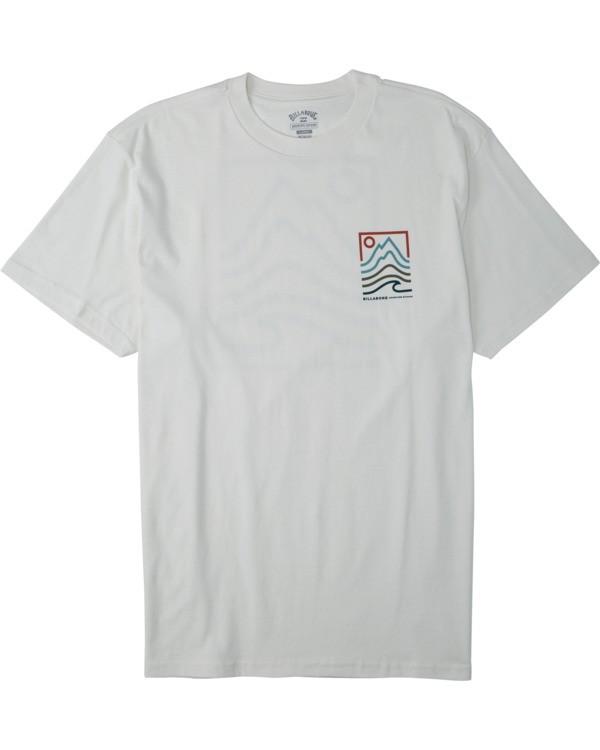 0 Peak T-Shirt White M4043BPK Billabong