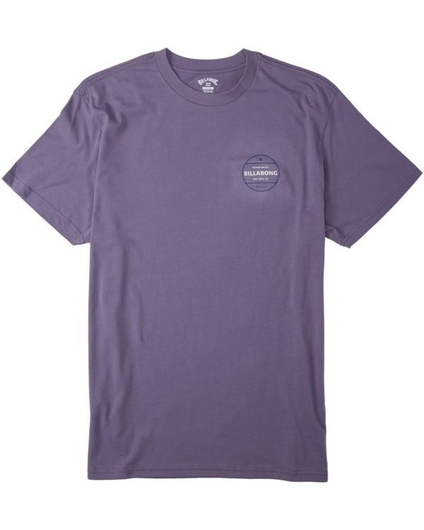 0 Rotor T-Shirt Purple M4043BRO Billabong