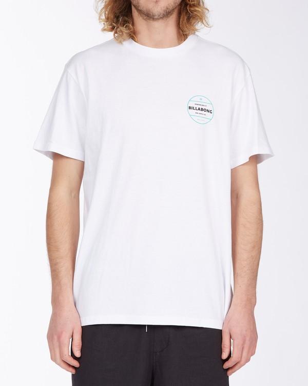 0 Rotor T-Shirt White M4043BRO Billabong