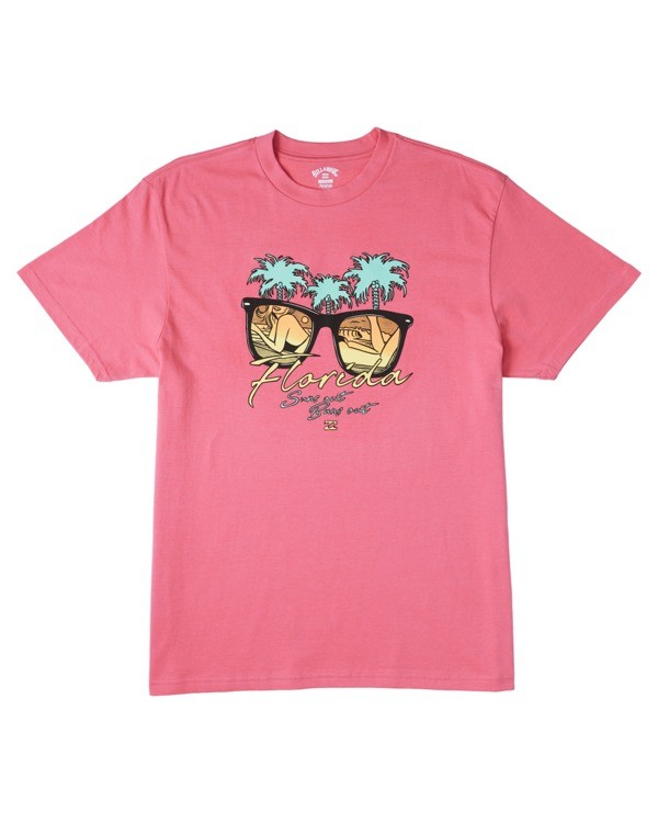 0 Suns Out T-Shirt Pink M4043BSO Billabong