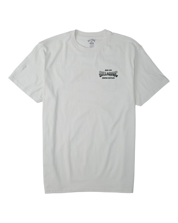 0 Supply Wave T-Shirt White M4043BSW Billabong