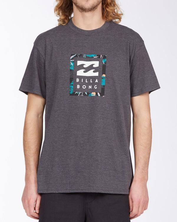 0 United Stacked T-Shirt Black M4043BUS Billabong
