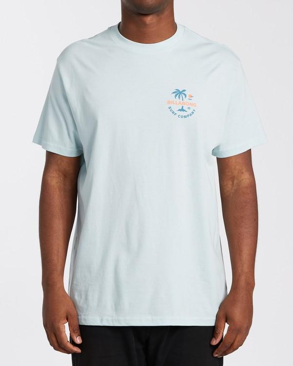 0 Vacation T-Shirt Blue M4043BVA Billabong