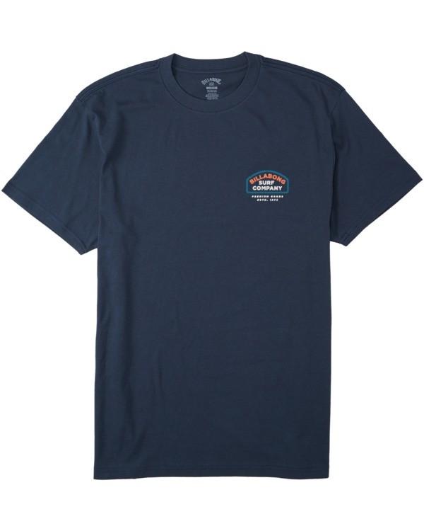 0 Walled T-Shirt Blue M4043BWA Billabong