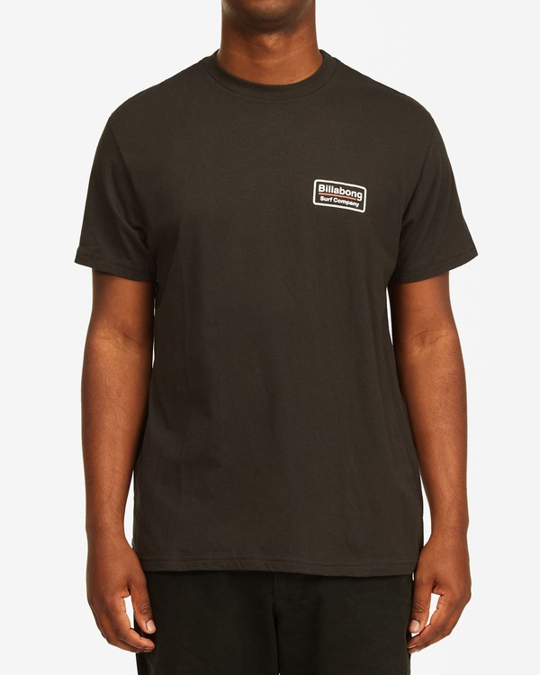 0 Walled T-Shirt Black M4043BWA Billabong