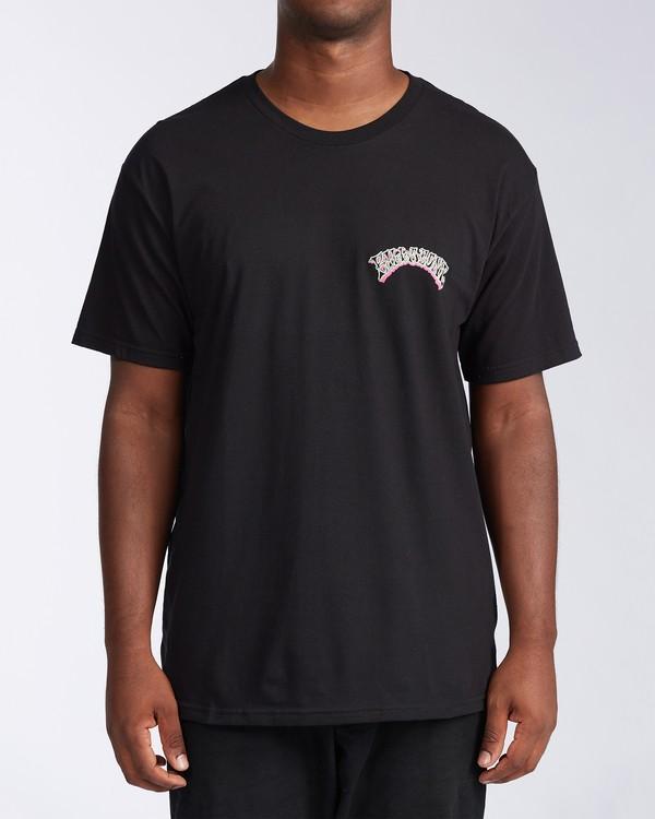 0 Siesta Laguna Short Sleeve T-Shirt Black M404LSLB Billabong