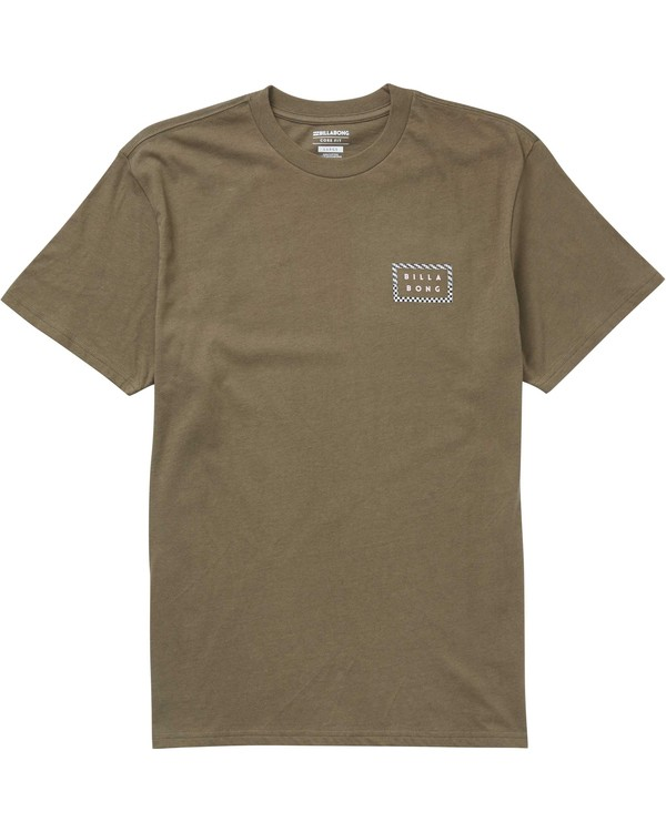 0 Border Die Cut T-Shirt  M404PBBO Billabong