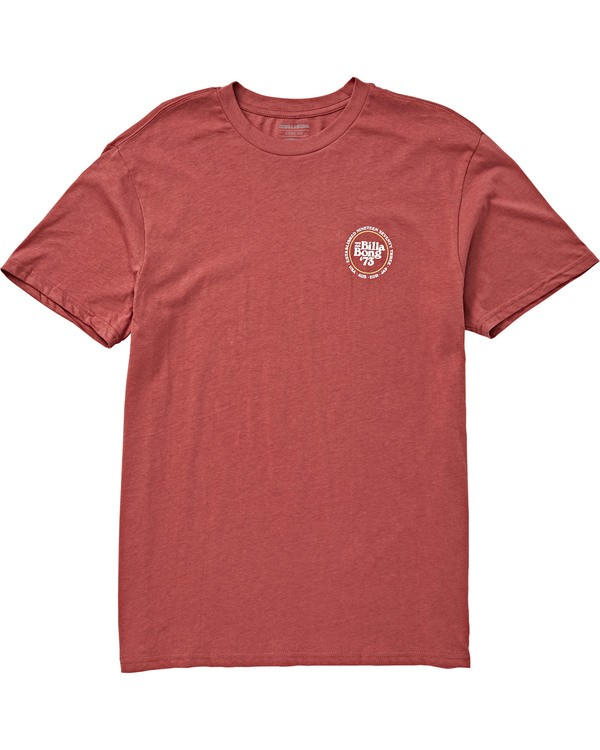 0 Cruiser T-Shirt Red M404QBCR Billabong