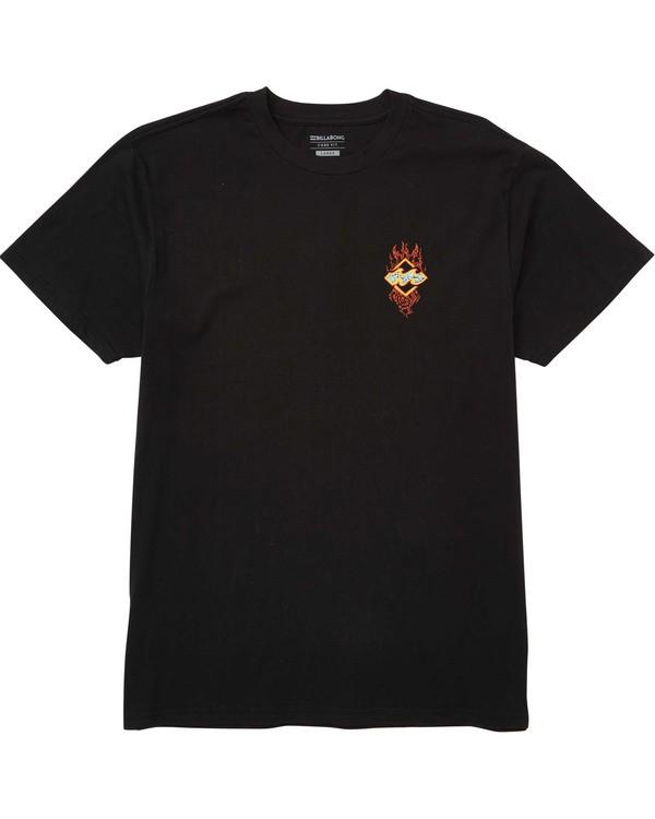 0 Archfire T-Shirt  M404TBAF Billabong