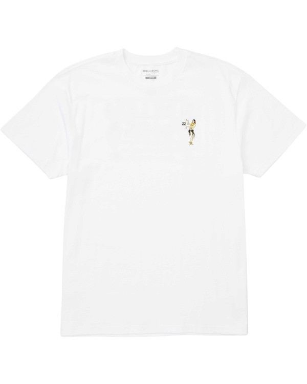 0 Bamboo Tee White M404TBBA Billabong
