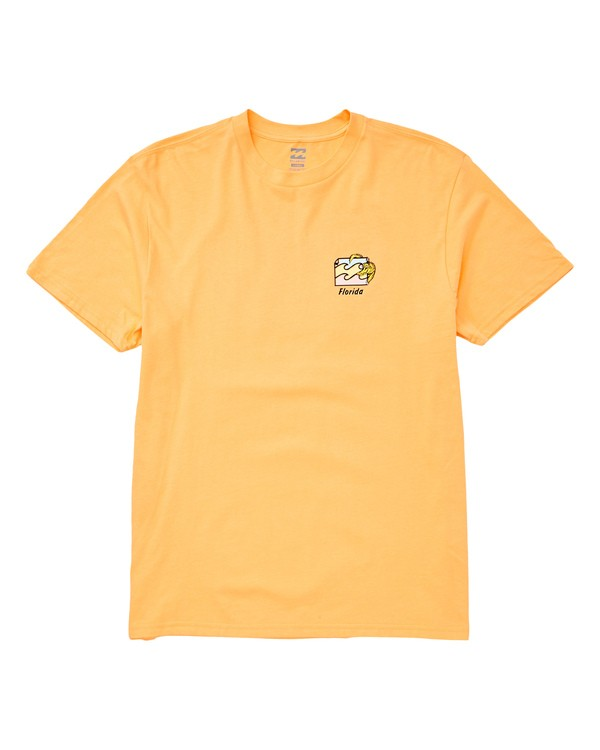 0 Gator T-Shirt Orange M404TBGT Billabong