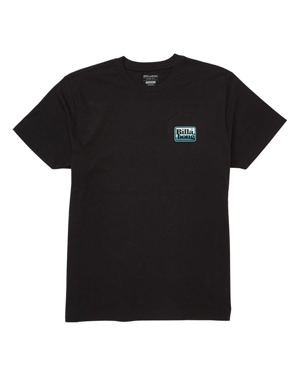 0 Keyline Tee Black M404TBKE Billabong