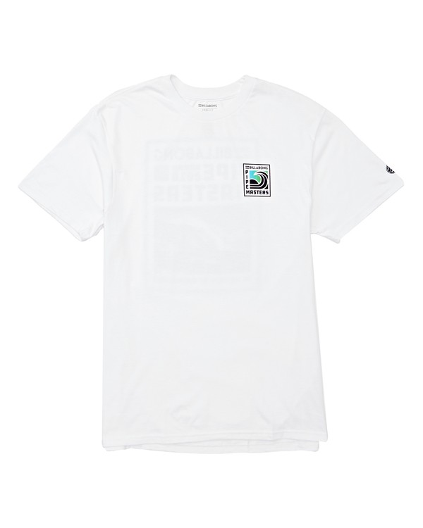 0 Pipe Poster T-Shirt White M404TBPI Billabong