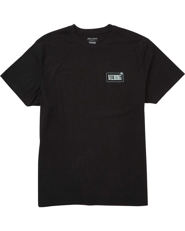 0 Seven Seas Tee Black M404TBSS Billabong