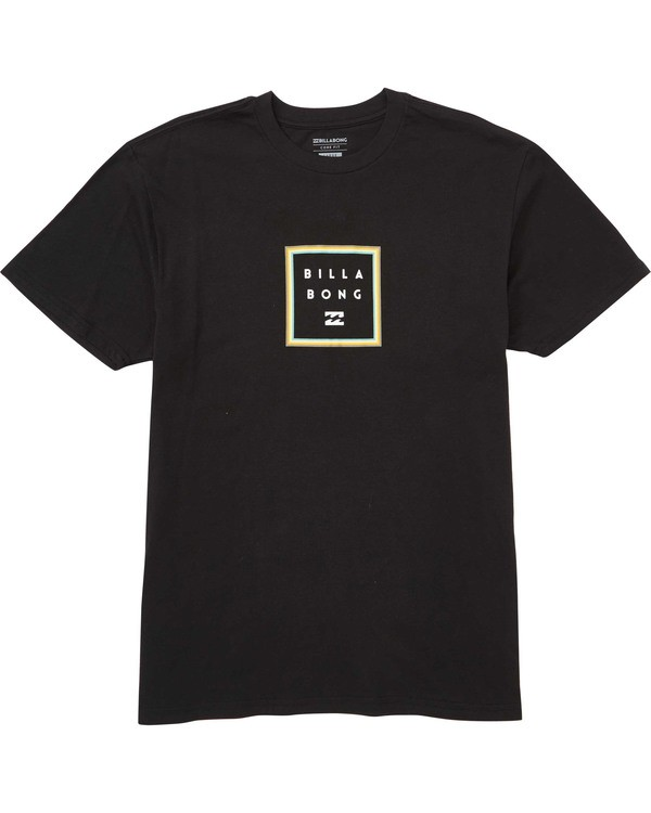 0 Stacked T-Shirt Black M404TBST Billabong