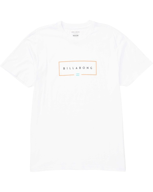 0 Union T-Shirt White M404TBUN Billabong