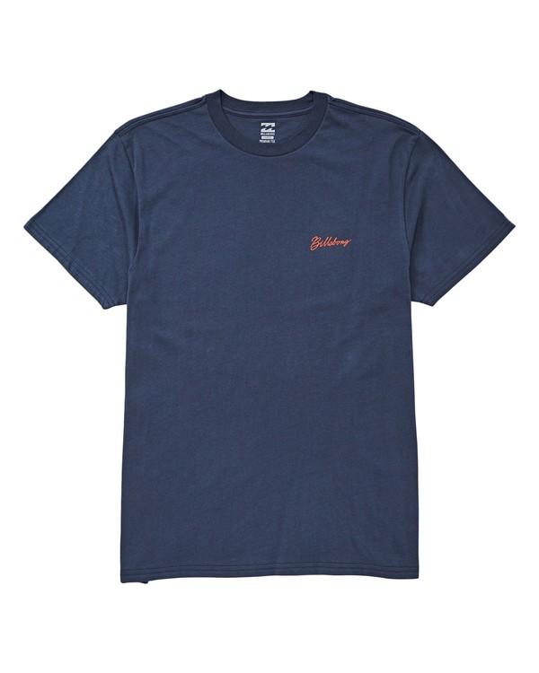 0 Birdsville T-Shirt Blue M404UBBI Billabong
