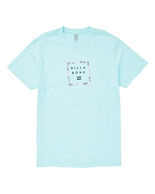 0 Stacker T-Shirt Grey M404UBBR Billabong