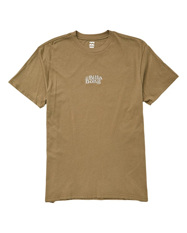0 Cruiser T-Shirt Green M404UBCR Billabong