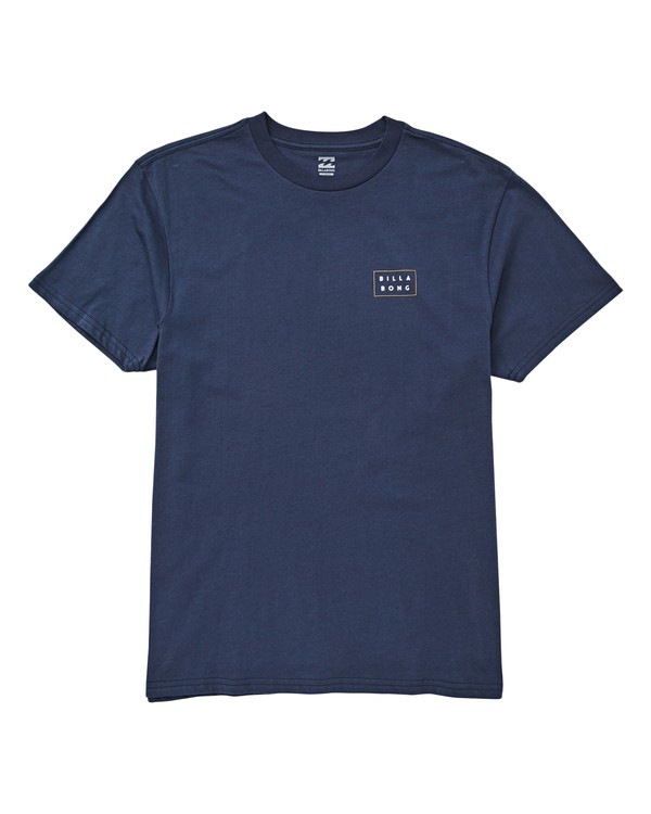 0 Diecut T-Shirt Blue M404UBDC Billabong