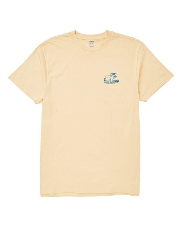 0 Foxtail T-Shirt Beige M404UBFO Billabong