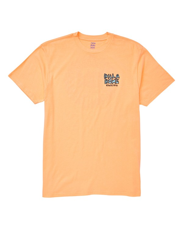 0 Fishtail Tee Orange M404UBFT Billabong