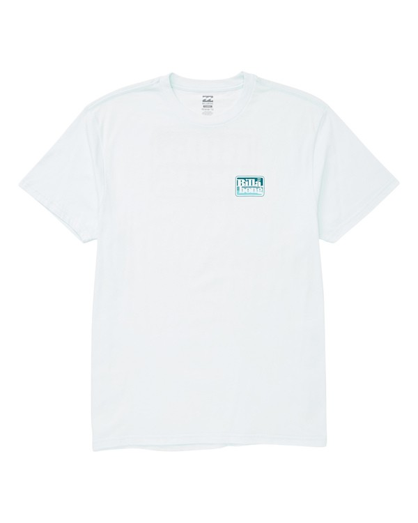 0 Keyline T-Shirt Blue M404UBKL Billabong