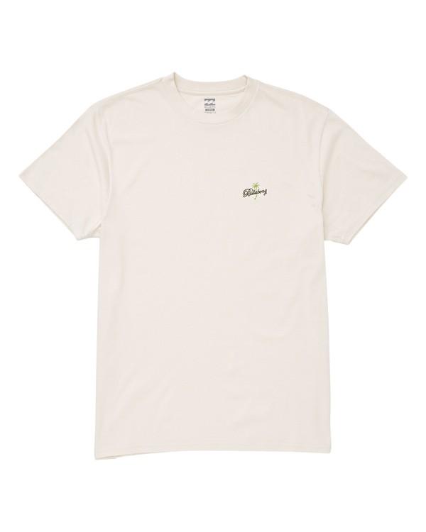 0 Palma T-Shirt White M404UBPA Billabong