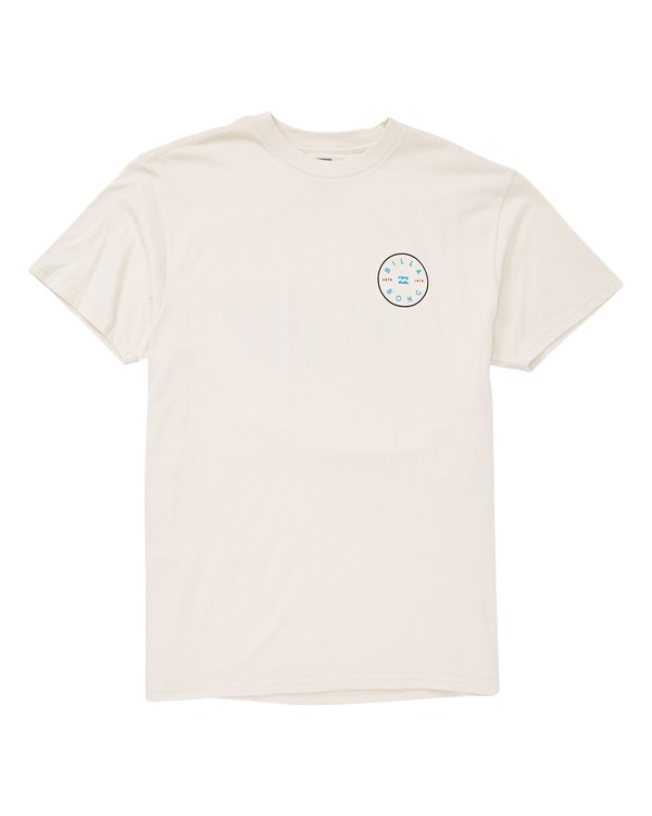 0 Rotor T-Shirt White M404UBRO Billabong